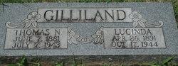 Lucinda M. <I>Chadwick</I> Gilliland
