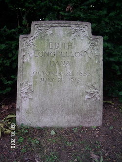 Edith Wadsworth <I>Longfellow</I> Dana