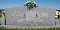 Ruth Agnes <I>Webb</I> Bowman