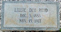 Lillie Dee <I>Reid</I> Whitehead