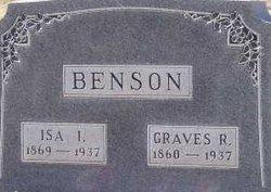 Isa Irene <I>Watkins</I> Benson
