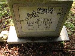 Dorothy Elaine Peters