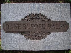 Olive <I>Buford</I> Balay