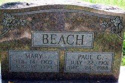 Mary <I>Webb</I> Beach