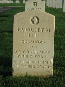 PVT Everett M Lee