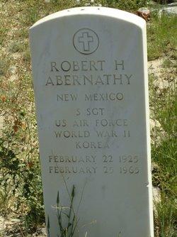 Sgt Robert Harry Abernathy