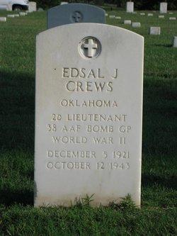 2LT Edsal J Crews