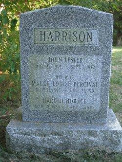Maude Louise <I>Percival</I> Harrison