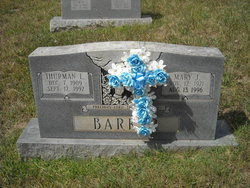 Thurman Lee Barker, Sr