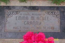 Emma M <I>Felt</I> Albee