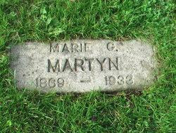 Marie G. <I>Scott</I> Martyn