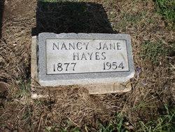Nancy Jane Hayes