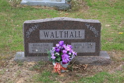 "Ronald Earl ""Pete"" Walthall"