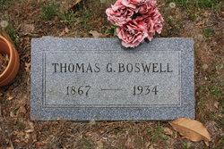 Thomas G Boswell