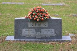 Gladys Ophelia <I>Todd</I> Sims