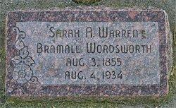 Sarah Ardella <I>Warren</I> Wordsworth