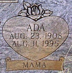 "Ada Minerva ""Big Mama"" <I>McAdams</I> Baxter"