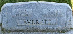 Elizabeth Hannah <I>Parry</I> Averett