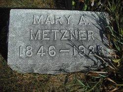 Mary A. <I>Haley</I> Metzner