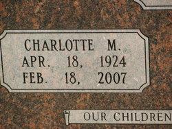 Charlotte Mina <I>Merritt</I> Casey