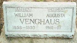 "Wilhelm Carl August ""William"" Venghaus"