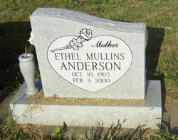 Ethel Honore <I>Mullins</I> Anderson
