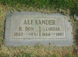Louise <I>Frazee</I> Alexander