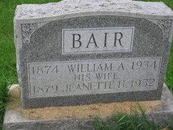 William A Bair