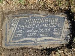 Maude L Huntington