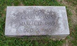 Clara <I>Wagner</I> Adams