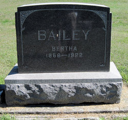 Bertha M. <I>Anderson</I> Bailey