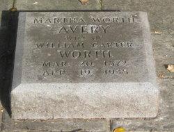 "Martha ""Mattie"" <I>Sherbert</I> Avery"