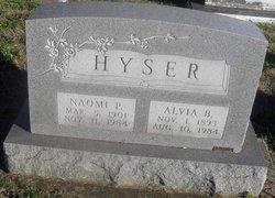 Alvia Burtner Hyser