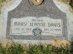 Mary Jeanne <I>Rockwood</I> Davis