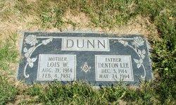 Lois Gwen <I>Walker</I> Dunn