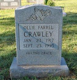 Ollie Farrell <I>Douglas</I> Crawley