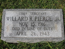 Sgt Willard Richardson Pierce, Jr