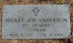 PFC Nickey Joe Anderson