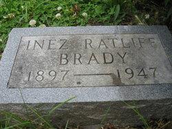 Inez <I>Ratliff</I> Brady