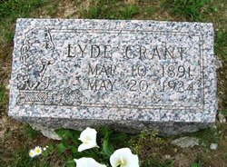 Lyde <I>Logsdon</I> Grant