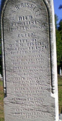 Eliza <I>Sloane</I> Bissell