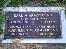Earl M Armstrong