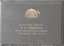 Corp T A Goddard