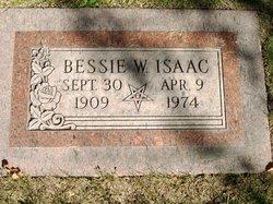 Bessie W Isaac