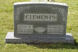 Blanche L Clements