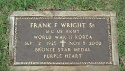Frank F. Sr. Wright