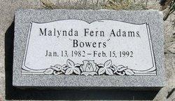 Malynda Fern Adams Bowers
