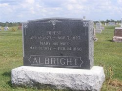 Mary Belle <I>Pittsenbarger</I> Albright