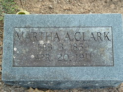 Martha Ann <I>Goodmon</I> Clark