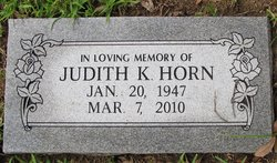 Judith Kaye Horn